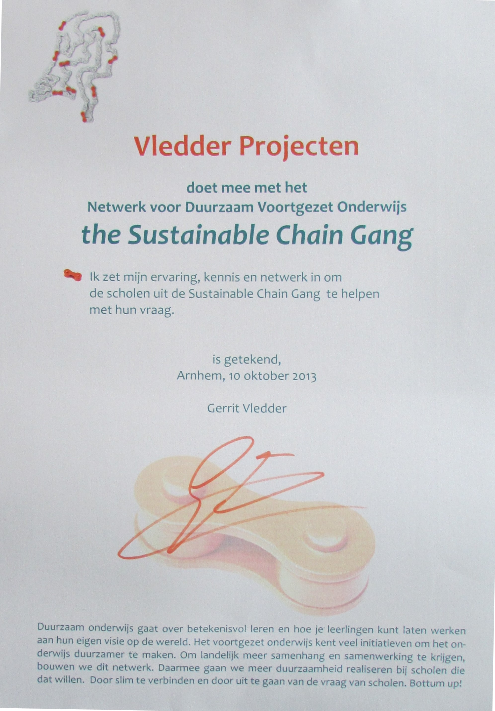 the sustainable chain gang